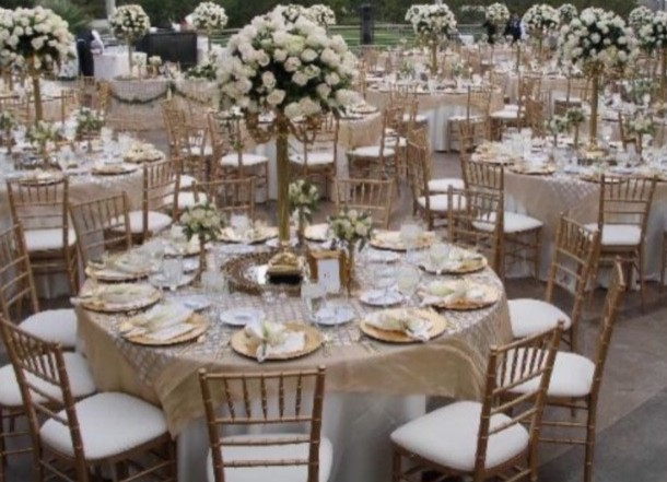 ... Gold Chiavari Chairs ...