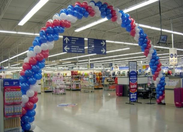 Rigid Pipe Balloon Arch